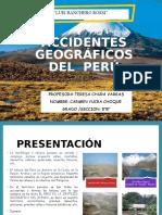 Accidentes Geográficos Del Perú