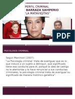 Perfil Criminal Juana Barraza