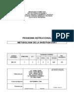 Metod de La Investig _todas Las Escuelas_ Sep-2005