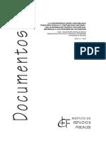 La Convergencia Entre Contabilidad Financiera Pública y Contabilidad Nacional - Rodríguez Bolívar