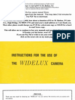 Widelux Manual