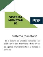 Sistema Monetario Macro