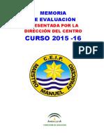 Memoria Curso 2015-16 Direccion