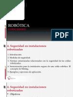 Documents.mx Tema 4 Seguridad en Instalaciones Robotizadas 1 Introduccion 2 Medidas de Seguridad 3 Normas Armonizadas Relacionadas Con La Seguridad de Las Celdas
