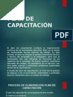 Presentaciòn Plan de Capacitación