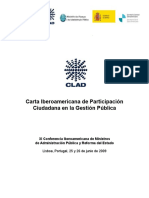 29 Carta Iberoamericana de Participacion Ciudadana