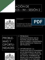 Sesión 2 Prkhoceso Investigación de Mercados Uj 2015 Silvia