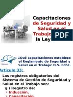 capacitacionesdesstsegnlaley29783-140225174014-phpapp01