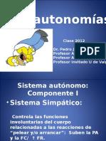 Disautonomías 2012