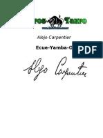 Carpentier, Alejo - Ecue_Yamba_O