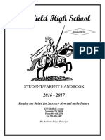 sheffield student handbook 16-17
