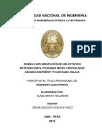 tesis Estacion Meteorologica