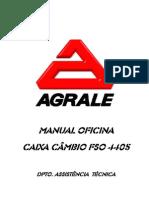 Caja de Cambio FSO4405A Portugues Agrale Volare Volkswagen