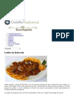 Receita de Leitão Da Bairrada _ Cozinha Tradicional