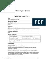 NetAct Plan Editor 4.9-4 CN