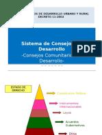 LEY DE CONSEJOS DE DESARROLLO URBANO RURAL.pptx
