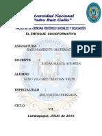 ENFOQUE SOCIOFORMATIVO-PRIMER CAPITULO