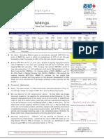 Sunway Holdings Berhad
