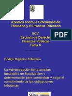 Determinacion y Procedimientos Tributarios