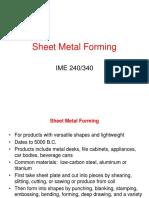 Sheet Metal working 1