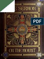 William Audsley, George Ashdown Audsley, Charles Rolt, W. R. (William Robert) Tymms - The Sermon on the Mount, Illuminated (Sermononmo