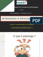 IntroduIntrodução à Patologia Geral.pdção à Patologia Geral