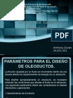 Diseño de Tuberia Oleoductos