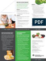 Healthy Eating Adult Brochure