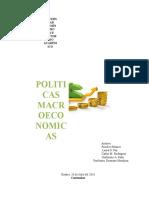 Trabajo Politicas Macroeconomicas Modificado