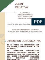 Dimension Comunicativa Jose Funlan