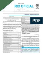Diario oficial de Colombia n° 49.948. 28 de julio de 2016