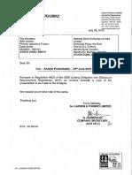 Analysts Presentation [Company Update]