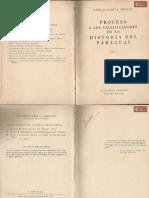 Proceso a los falsificadores de la Historia del Paraguay Tomo I de Atilio García Mellid, Buenos Aires