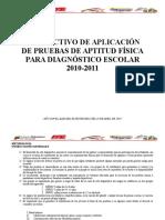 Formato Prueba dxcxcxe Actitud Fisicade 6 a 9[1]