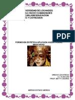 TRABAJO SINGULAR MASCARAS  (F.E.A AUDIOVISUAL)
