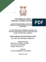 Universidad Andina Caratula
