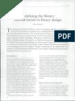Art Libraries Journal January 1, 2010