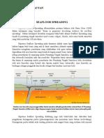 Geofisika Kelautan Sea Floor Spreading