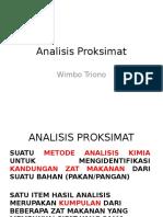 Analisis Proksimat Materi 1