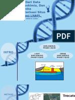 Integrasi Dari Data Geofisika, Geokimia, Dan Mikroba Untuk Karakterisasi Situs Kontaminasi LNAPL