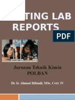 Example To Write A Report