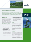 Environmental Insurance Product