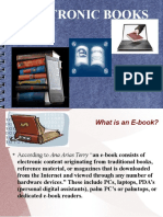 Role of E-books in Education
