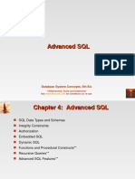 Advanced SQL 160