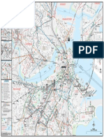 MBTA System Map Front