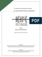Kobe international flute competition