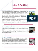 Auditing Factsheet SEDEX