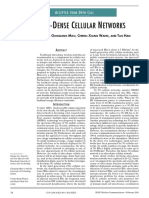 5G Ultra Dense Cellular Natwork