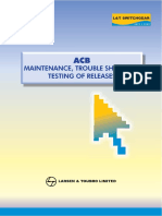 Testing Maintenance Troubleshooting ACB