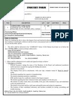 2625- Inquiry Form